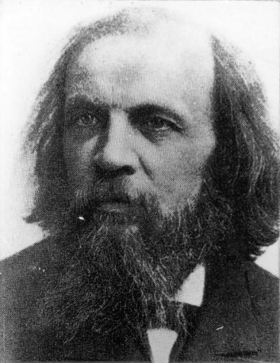 Mendelejev, Dmitrij Ivanovič