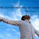 Láska sú krídla, ktoré dal Boh človeku, aby vystúpil až k nemu.