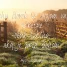 V tichu človek vo svojom vnútri stretne seba takého, aký je pred Bohom.