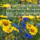 Kvetiny sú milostným vyjadrením ducha prírody.